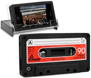 iPhone Cassette Skin and Stand