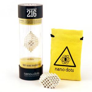 Nanodots Magnetische Kügelchen 216 Teile - Silber