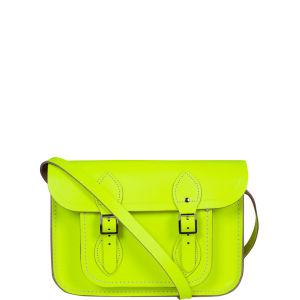 The Cambridge Satchel Company 11 Inch Fluoro Leather Satchel - Fluorescent Yellow