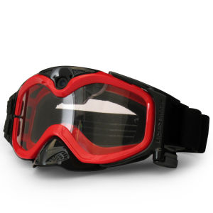 Video Camera MX Off-Road Goggles - Red