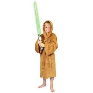 Star Wars Jedi Kids Fleece Bathrobe - Large