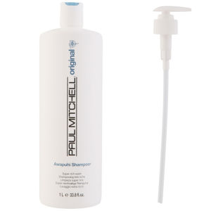 Paul Mitchell Awapuhi Shampoo (1000 ml) med pumpe (pakke)