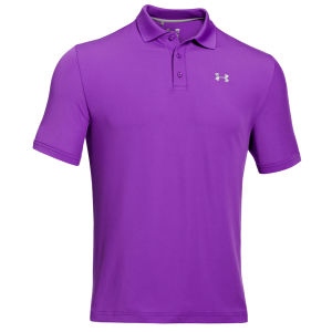 Under Armour Men's Performance Polo Shirt 2.0 - Purple/Grey