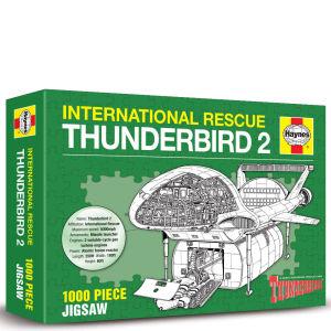 Thunderbirds TB1 - TB5 Puzzle