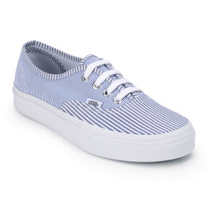 vans damen authentic blau