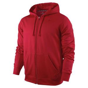 Nike Men's KO Full Zip Hoody 2.0 - Gym Red