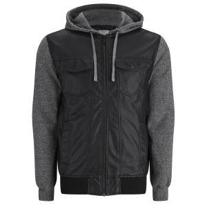Brave Soul Men's Athens Jacket - Black