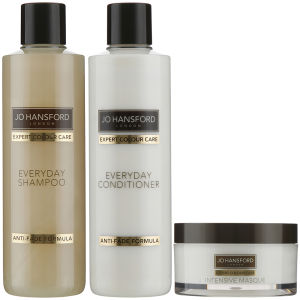 Jo Hansford Expert Colour Care Everyday Shampoo, Conditioner (250 ml) och Masque (150 ml)