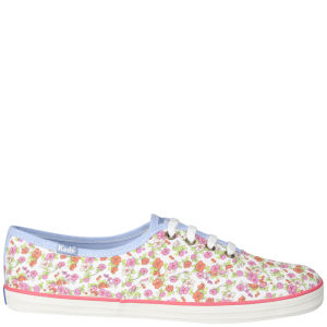 Keds Women's Champion Oxford Pumps - White Floral