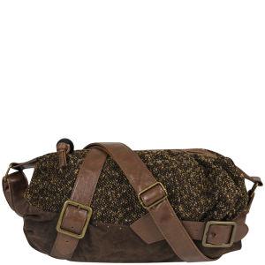 Irregular Choice Long Lashes Cross Body Bag - Brown/Brown