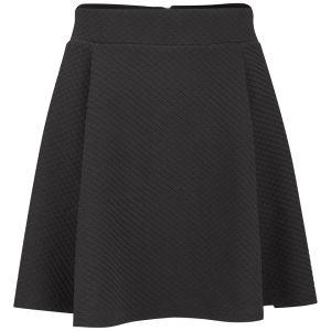 ONLY Women's Loop Skater Skirt - Black
