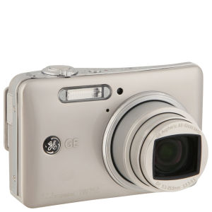 GE TW250 Digital Camera - Silver (12.2MP, 5 x Optical Zoom, 3 Inch LCD Touch Screen)