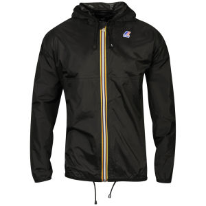 K - Way Men's Claude Classic Full Zip Jacket - Black
