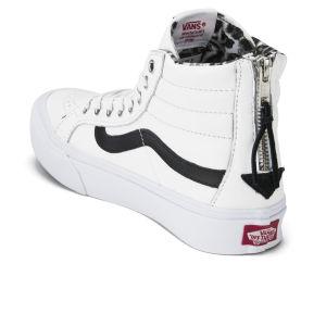 d1aabed202ee Buy white high top vans black stripe