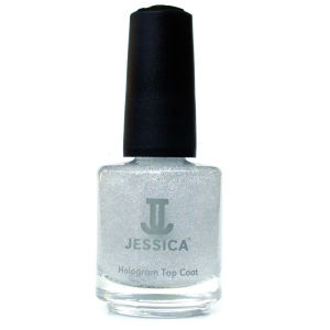 Jessica Hologram Silver Glitter Top Coat