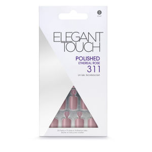 Elegant Touch Polished Nails - Ethereal Rose