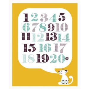 Mibo Cat Alphabet Print