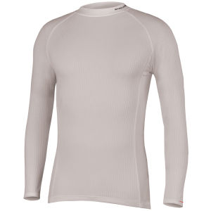 Endura Transrib L/S Baselayer White