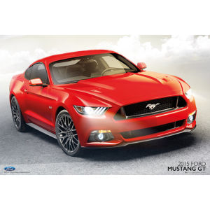 Ford Mustang GT 2015 - Maxi Poster - 61 x 91.5cm