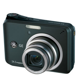 GE A1455 Digital Camera - Black (14.1MP, 5 x Optical Zoom, 2.7 Inch LCD)