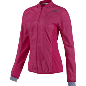 Adidas Women's Supernova SMT Jacket - Blast Pink/Shade Grey