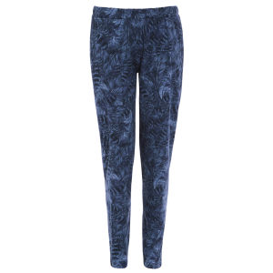 Damned Delux Women's Denim Feather Slouch Trousers - Blue