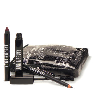 Lord & Berry Black Wardrobe Kit Eyeliners - Mascare/Line-Shade/Diva