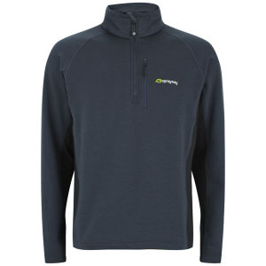 Polaire Sprayway Scorch 1/2 Zip -Charbon