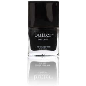 butter LONDON 3 Free Lacquer - Union Jack Black 11ml