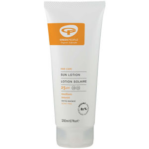 GREEN PEOPLE NO SCENT SUN LOTION SPF25 (50ML)