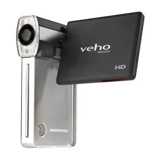 Veho Kuzo HD Ultra Slim Pocket Camcorder and MP3 Player