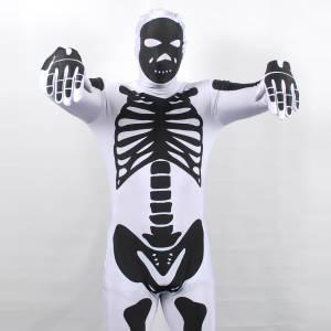 Morphsuits Skeleton White