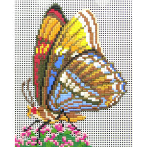 Mostaix Red Ribbon Series Mosaic - Butterfly