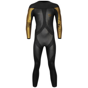 Speedo Men's Triathlon Elite Wetsuit - Black/Gold