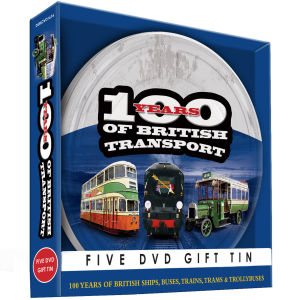 100 Years of British Transport Gift Tin