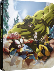 Hulk Vs - Zavvi exklusives Limited Edition Steelbook