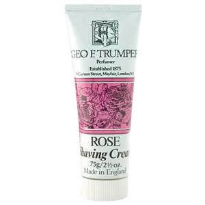 Trumpers Shave Cream - Rose 75 g Tube
