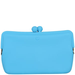 Candy Store Women's Silicone Cosmetic Bag  - Blue
