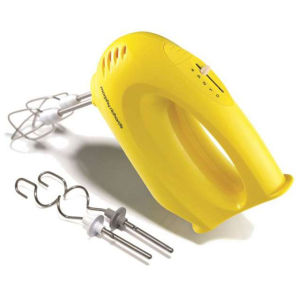 Morphy Richards Accents Hand Mixer - Yellow