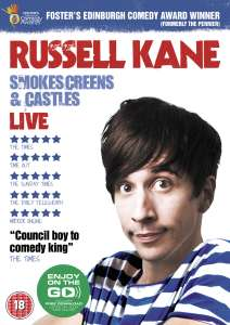 Russell Kane: Smokescreens and Castles Live (Bevat MP3 Copy)