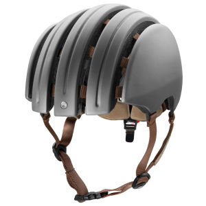 Carrera Premium 2014 Folding Helmet with Rear Light - Matt Dark Grey