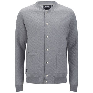 WeSC Men's Royce Jersey Jacket - Grey Marl
