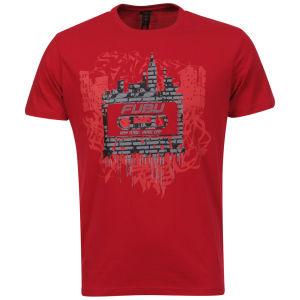 FUBU Men's Cassette T-shirt - Red