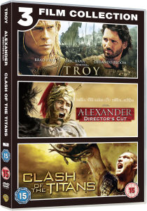 Troy / Alexander / Clash of Titans