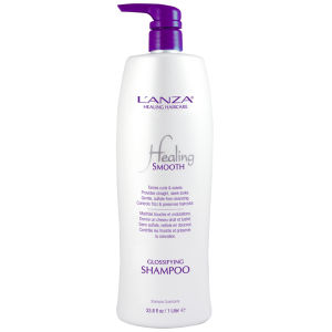 Champú intensificador de brillo L'Anza Healing Smooth (1000 ml) - (PVP 82,50 £)