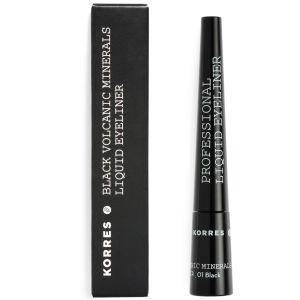 Delineador KORRES Liquid Eyeliner Minerals – Negro