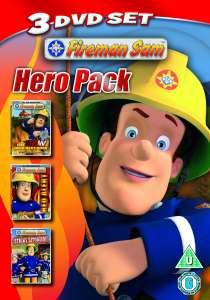 Fireman Sam - Triple Pack (New Hero Next Door / Red Alert / Sticky Situation)