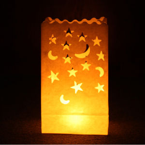 Candle Bags 5 Pack - Stars and Moons