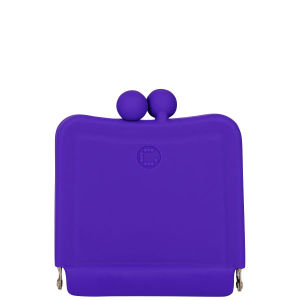 Candy Store Women's Silcone Purse Mirror - Purple