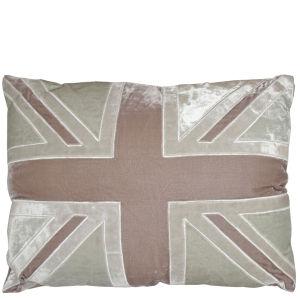 Torba Velvet Union Jack Cushion